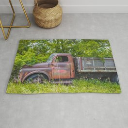 Farm Truck, Arena, North Dakota 2 Rug
