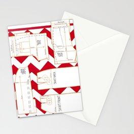 Seaside Stripes Slopers Stationery Cards