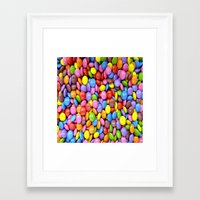 saga Framed Art Prints featuring Candy Crush Saga by ArtSchool