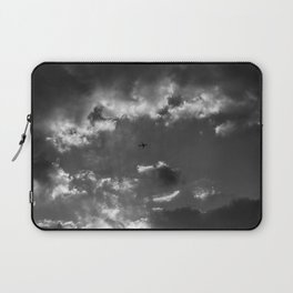 Plane and storm Laptop Sleeve