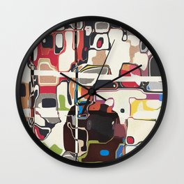 Psychofluidic Mechanisms Wall Clock