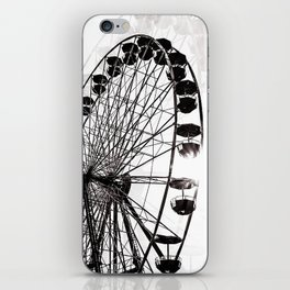 ferris wheel fair iPhone Skin