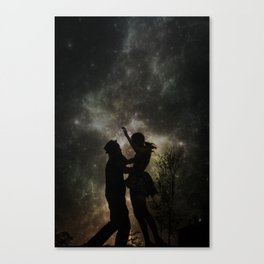 The Universe is Unfolding Perfectly  Canvas Print