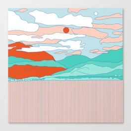Valle Blanco Canvas Print