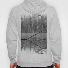 Black and White Reflections over Bluegill Bond Hoody