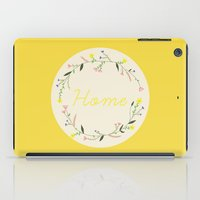 home sweet home iPad Cases featuring Home by Babiole Design