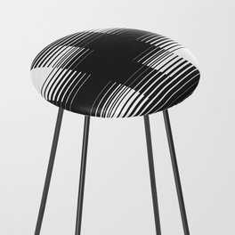 Lines #2 Counter Stool