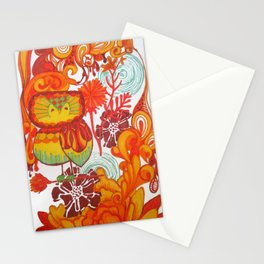 owl iphone Stationery Cards