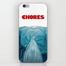 Chores (2015 version) iPhone & iPod Skin