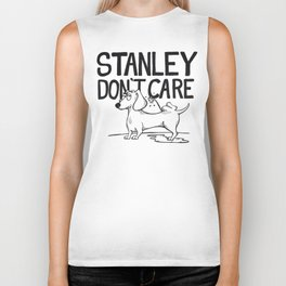 Stanley Don't Care Biker Tank