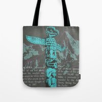 alaska Tote Bags featuring Alaska by Last Call