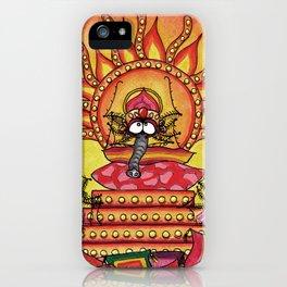 Yoga Spider iPhone Case