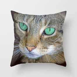 FELINE LOVE Throw Pillow