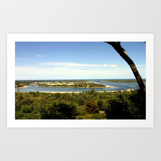 Lakes Entrance ~ Australia Art Print