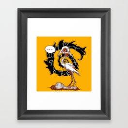 conCERNed Framed Art Print