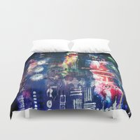 industrial Duvet Covers featuring industrial by Hamster&hearts