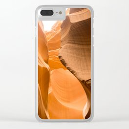 Canyon Color Clear iPhone Case