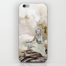 Fairy and the swan iPhone & iPod Skin
