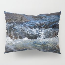 Rocks at Mississippi Headwaters Pillow Sham