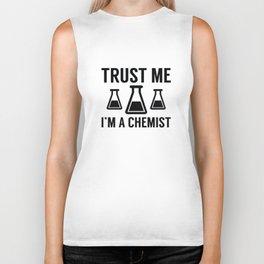 Trust Me I'm A Chemist Biker Tank