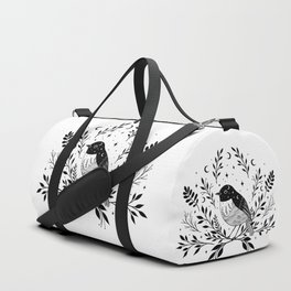 A Bird with Seven Moons Duffle Bag
