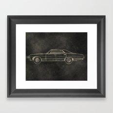 Supernatural: Impala Framed Art Print