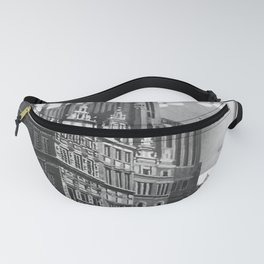 retro old Gdanks poster Fanny Pack