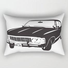 Supernatural Chevrolet Impala 67' Rectangular Pillow