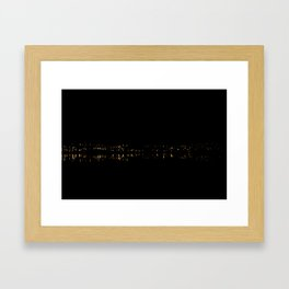 Evening light Framed Art Print