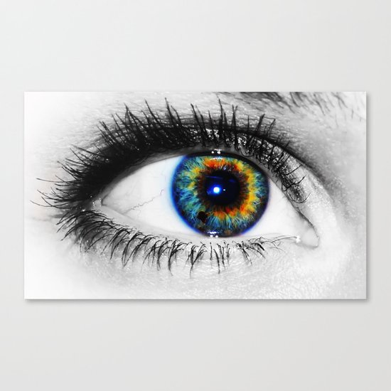 Sofies eye Canvas Print