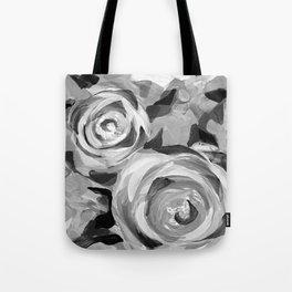 Platnium Rose Black and White Tote Bag