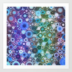 Circles At Midnight Art Print