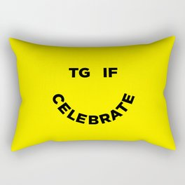 TGIF Celebrate Rectangular Pillow