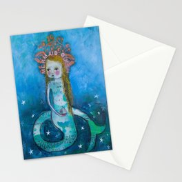 Mermaid Queen Stationery Cards