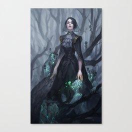 The Necromancer Canvas Print