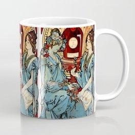 "Alphonse Mucha ""Bénédictine"" Coffee Mug"