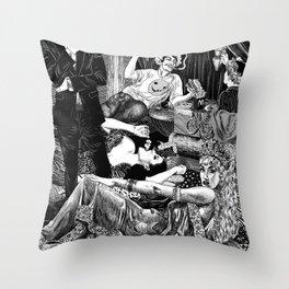 Opulence & Decadence Throw Pillow