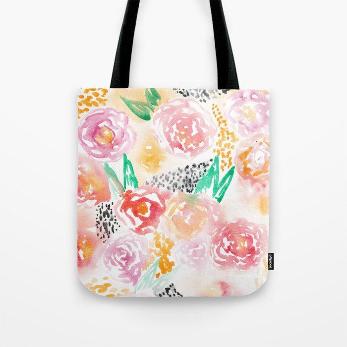 Abstract Watercolor III Tote Bag