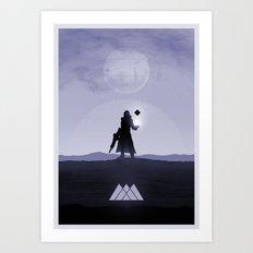 Destiny Warlock Art Print