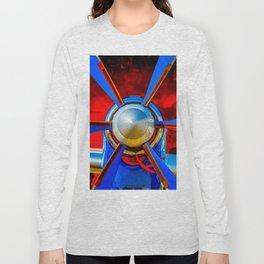 Blue propeller Long Sleeve T-shirt