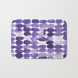 Ultra Violet Swatches Bath Mat