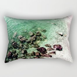 Bathing Beauties on the Amalfi Coast Rectangular Pillow