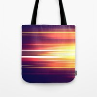 sonic Tote Bags featuring Super Sonic by Emily Day