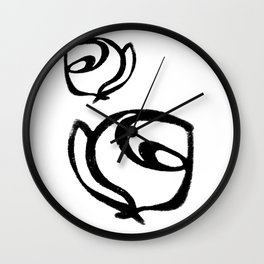 Flowers, Mother-Daughter1 Wall Clock