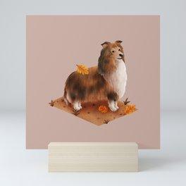 Rough Collie (Shetland Sheepdog) Mini Art Print