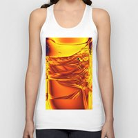 waterfall Tank Tops featuring waterfall by donphil