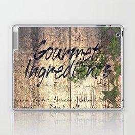 Rustic Garlic Tomato Country Kitchen Cafe Decor Bistro Art Still Life A302 Laptop & iPad Skin