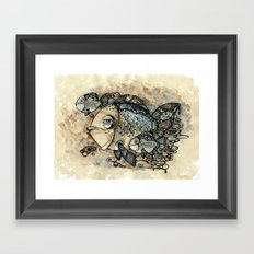 Arrogant Fish Framed Art Print