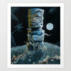 Marquesan Entwined Art Print