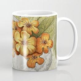 Anxiety Ridden | Skull with Flowers Coffee Mug